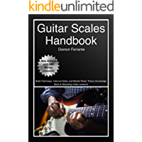 Guitar Scales Handbook: A Step-By-Step, 100-Lesson Guide to Scales, Music Theory, and Fretboard Theory (Book & Streaming… book cover