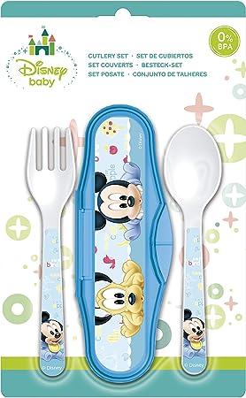Mickey Mouse Estuche Cubiertos microondas (STOR 39814): Amazon.es: Juguetes y juegos