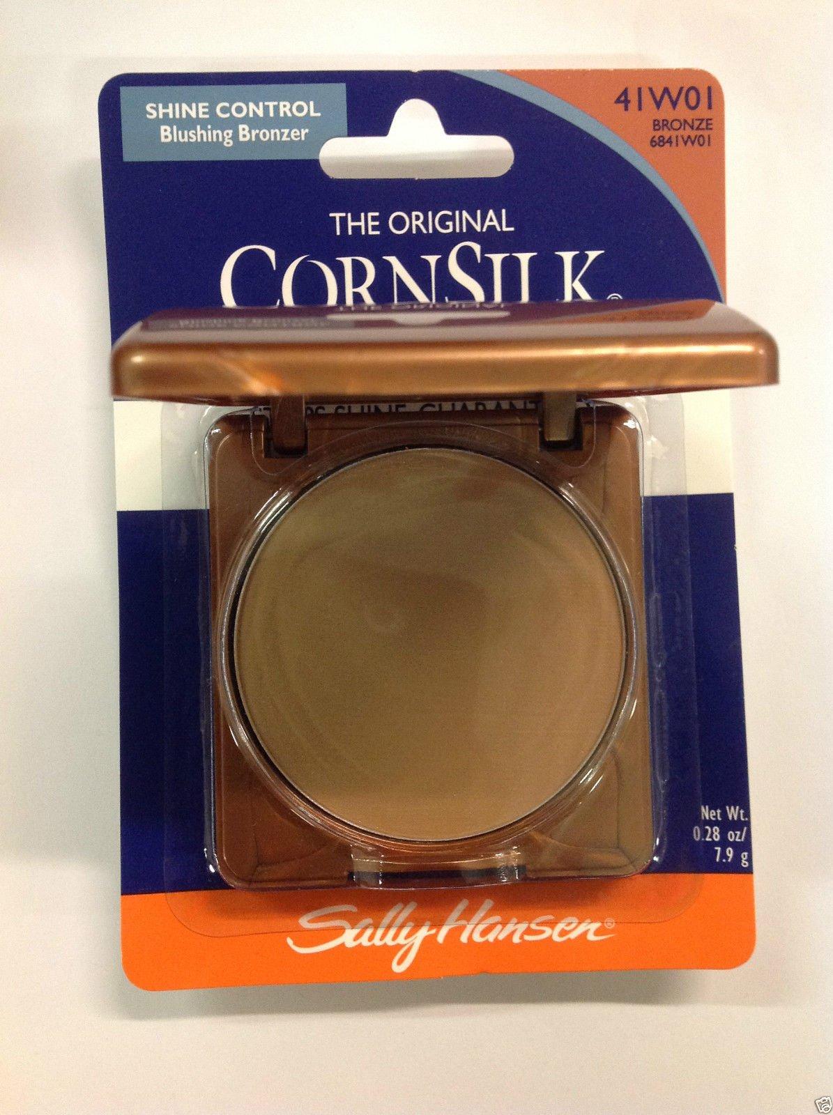 Sally Hansen Cornsilk Shine Control, Blushing Bronzer, Pressed Powder, Bronze 6841-01