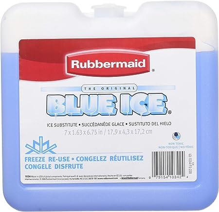 Rubbermaid hielo azul marca Weekender Pack fg1034tl220 WLM No Model, 4 Pack, Azul, 1: Amazon.es: Salud y cuidado personal