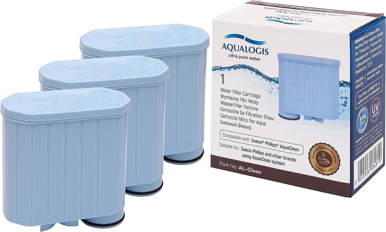 6 AL-Clean Wasserfilter Filter fü Saeco AquaClean Kaffeevollautomaten CA6903 00