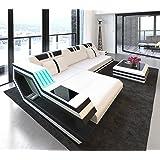 Sofa Dreams Bigsofa Megasofa Grand canapé Milano avec éclairage LED ...