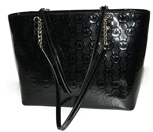 b58fbfaec2 Michael Kors Jet Set EW Chain Tote - Black  Amazon.ca  Shoes   Handbags