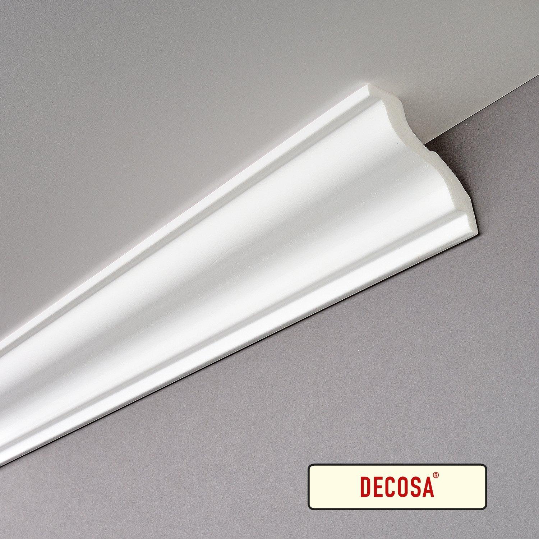 70 x 70 mm longueur 2 m Decosa Moulure S100 Sylvia PRIX SPECIAL LOT de 10 pi/èces