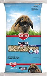 product image for Kaytee Forti Diet Pro Health Rabbit Food For Adult Rabbit, 25-Pound