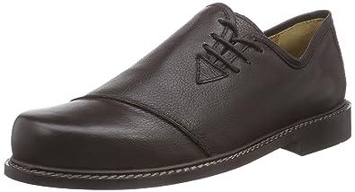 Haferlschuh Herren Trachtenschuhe Brogue Schnürhalbschuhe Derby Schuhe Braun 43 EU 7n0gmHKF