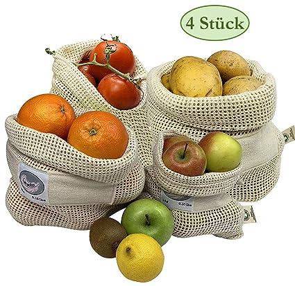 Larovita - Bolsas Reutilizables para Frutas y Verduras ...