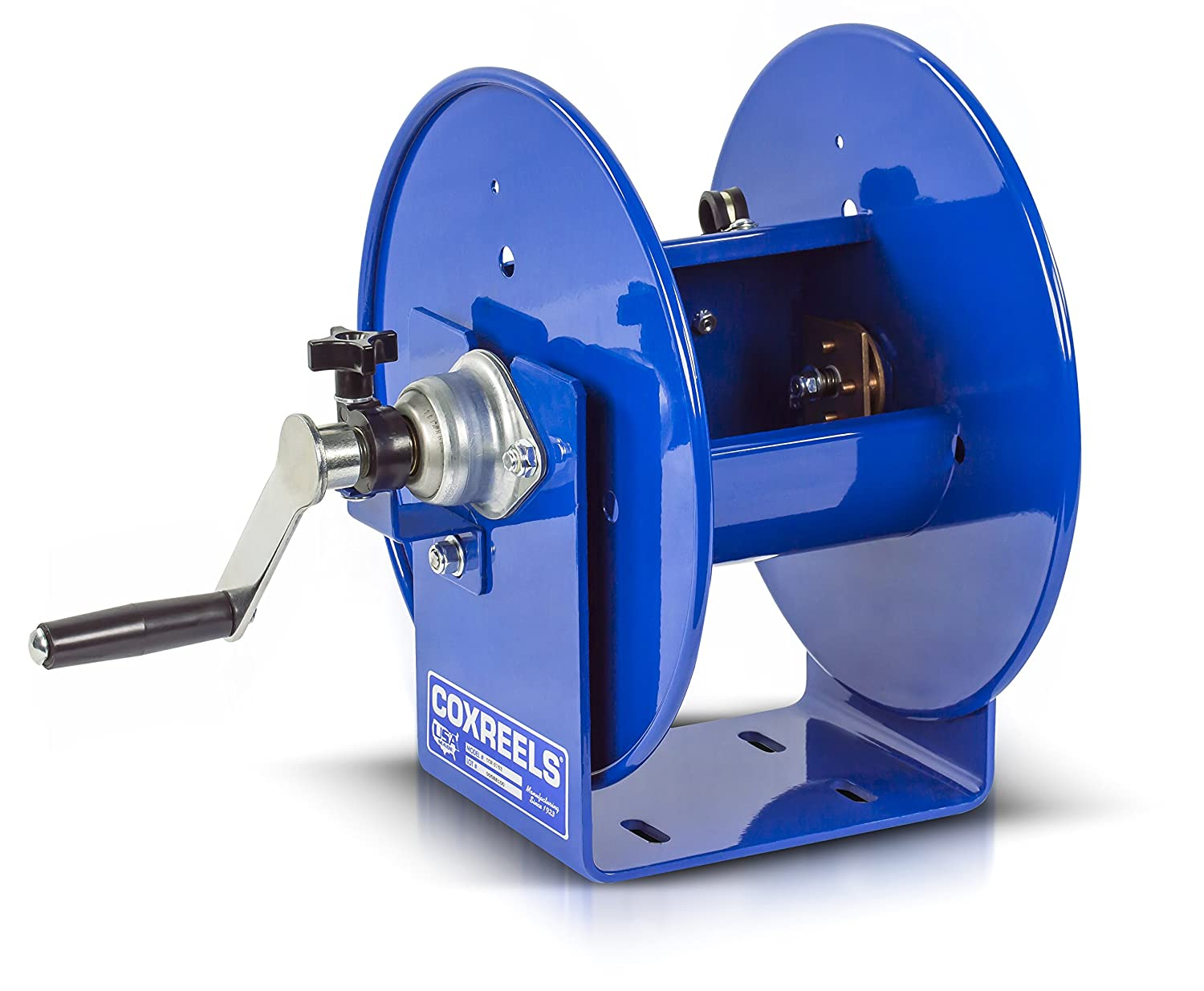 Compact Hand Crank Welding Cable Reel COXREELS 112WCL-6-02