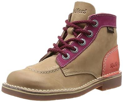 officiel de vente chaude utilisation durable profitez de la livraison gratuite Kickers Col, Boots Fille