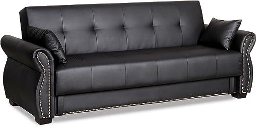 Amazon.com: Serta Dream sofá Seville convertible ...