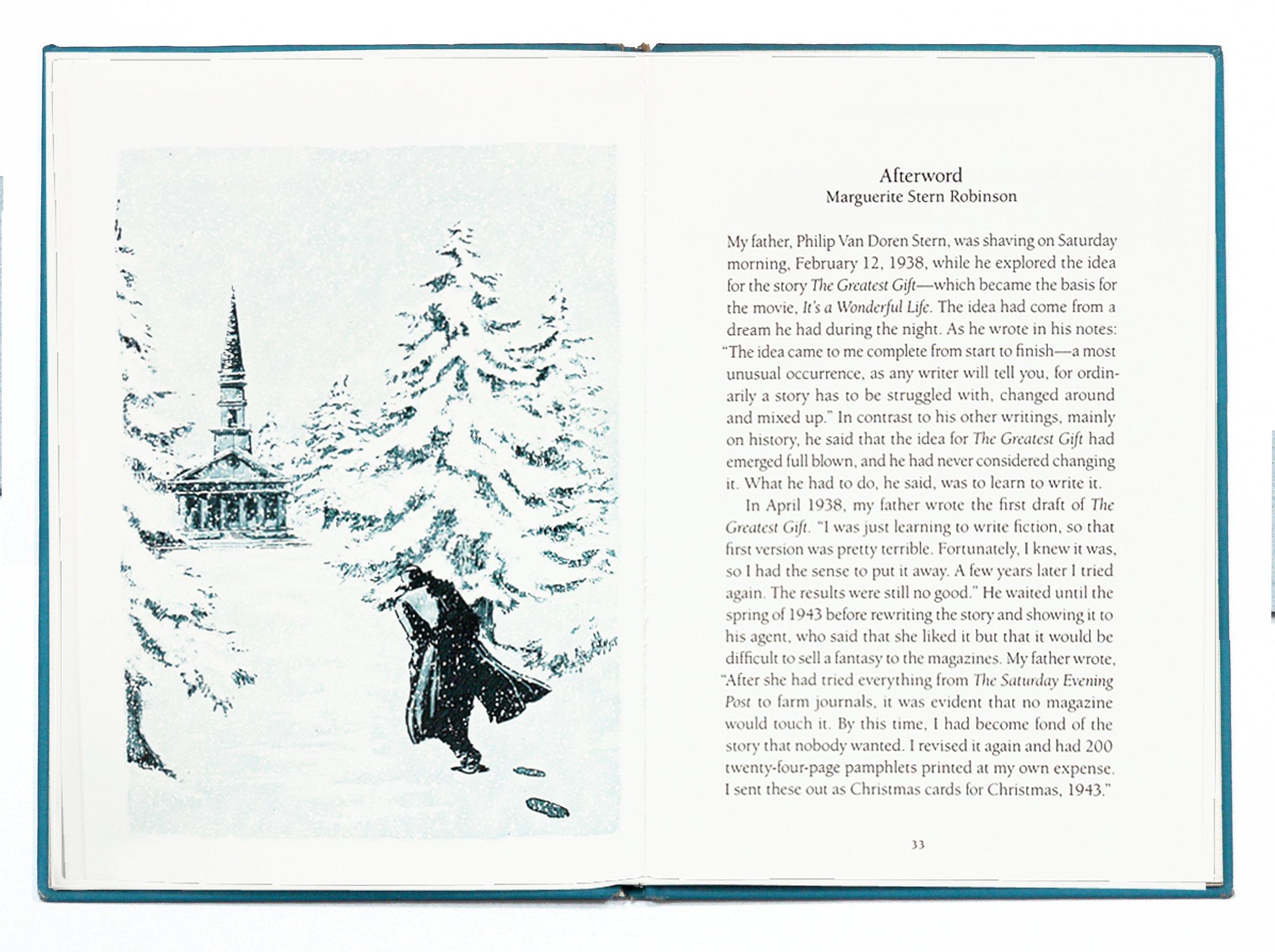 The Greatest Gift: Philip Van Doren Stern: 9780957025509: Amazon.com ...