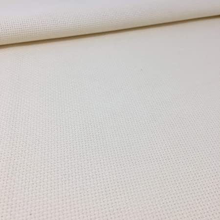 White 14 count Aida 50 x 75 cm Zweigart