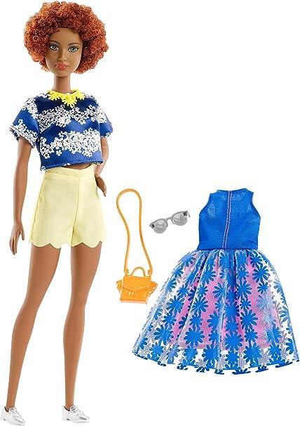 ADD ON ITEM NEW Barbie Fashionista Curvy Doll Red Necklace ~ Jewelry Accessory