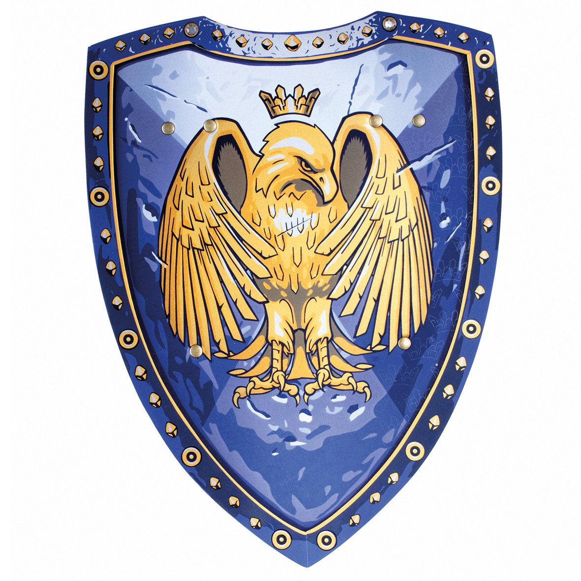 Liontouch 27001 Escudo de Eagle, Púrpura, Golden Eagle/Escudo Golden Eagle Bestsaller1622