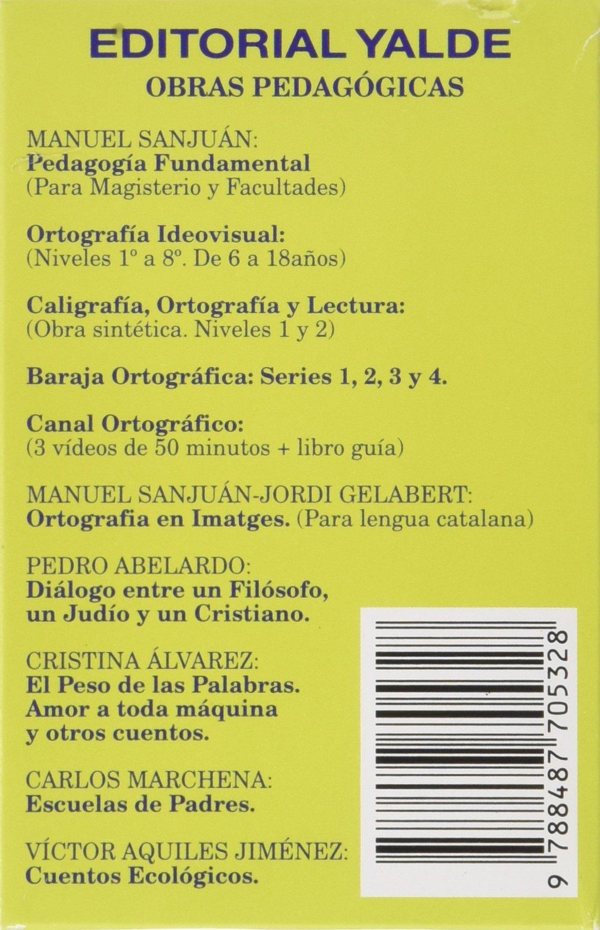 Baraja ortografica 2 (5-12 años): Amazon.es: Manuel Sanjuan Najera: Libros