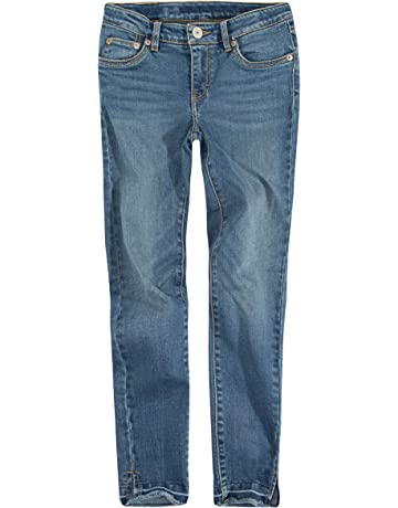 dd7b4d661 Levi's Girls' 710 Super Skinny Fit Classic Jeans