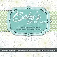 Baby's First Year (Perpetual w/bonus sticker sheet) 2016 Wall Calendar