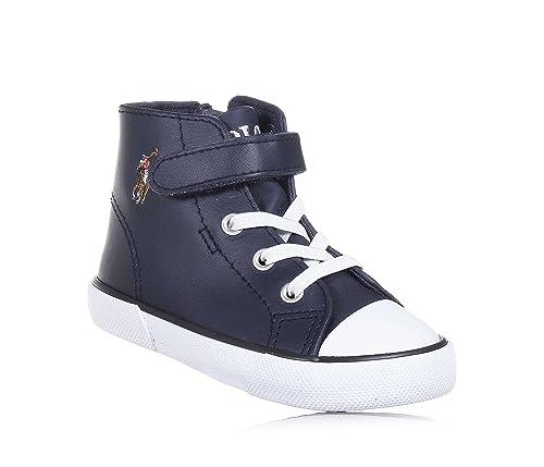 Polo Ralph Lauren KONI MID Bebé 26: Amazon.es: Zapatos y complementos