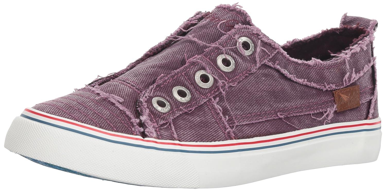 Blowfish Women's Play Fashion Sneaker B07B8K91Y3 8.5 M US|Deep Plum Hipster Smoke