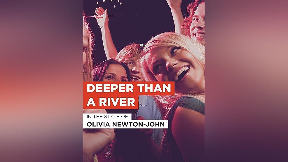 "Deeper Than A River im Stil von ""Olivia Newton-John"""