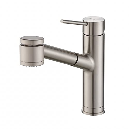 Kraus Kpf-2610ss Modern Oletto Single Lever Pull Out Kitchen Faucet