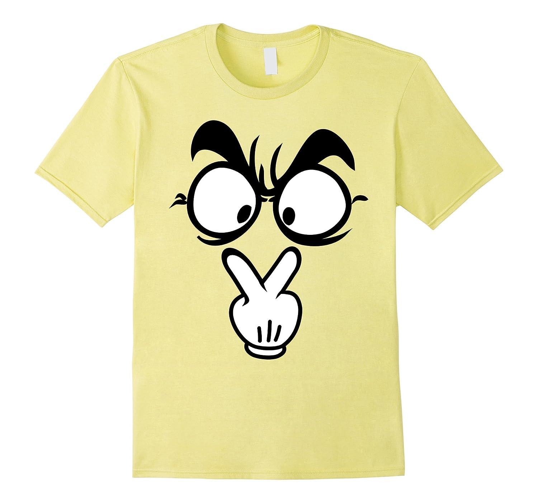 I'm Watching You Emoji Halloween Tshirt-ANZ