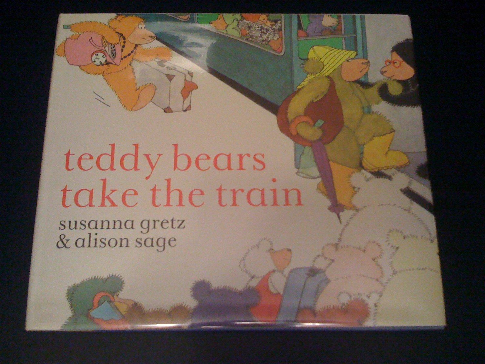 Teddy Bears Take the Train