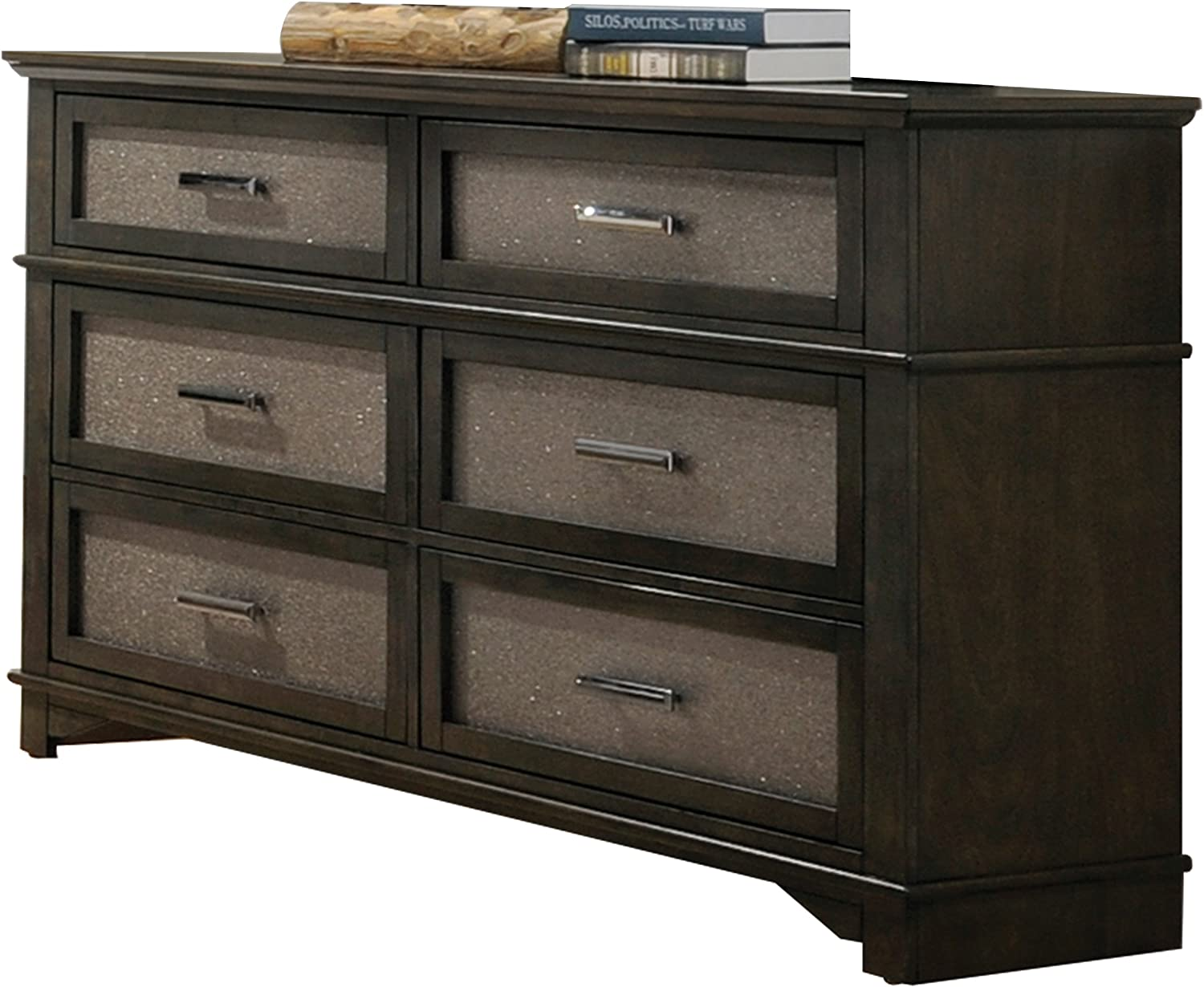 ACME Furniture 26285 Anatole Dresser, Dark Walnut
