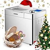 Amazon.com: Aicok - Máquina para hacer pan automático con 15 ...