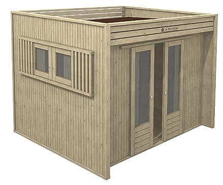 Casetta in legno da giardino 3x2 LA PRATOLINA di alta qualità ...