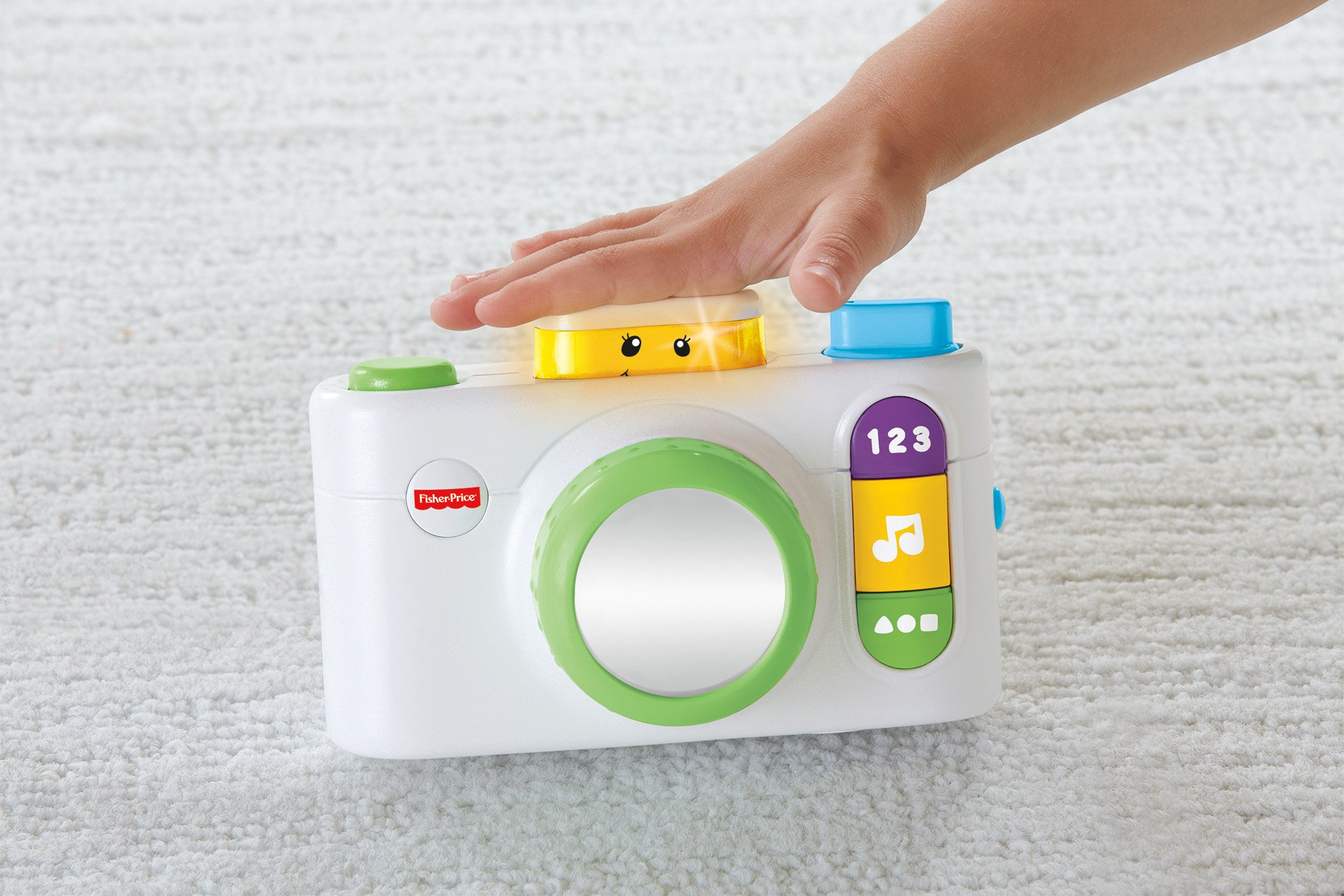 Fisher-Price Laugh & Learn Click 'n Learn Camera, White by Fisher-Price (Image #3)