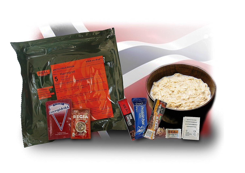 MRE NORWEGEN NORWEGISCHES EPA ARCTIC FIELD RATION ARMY FOOD MEAL DRYTECH ORIG