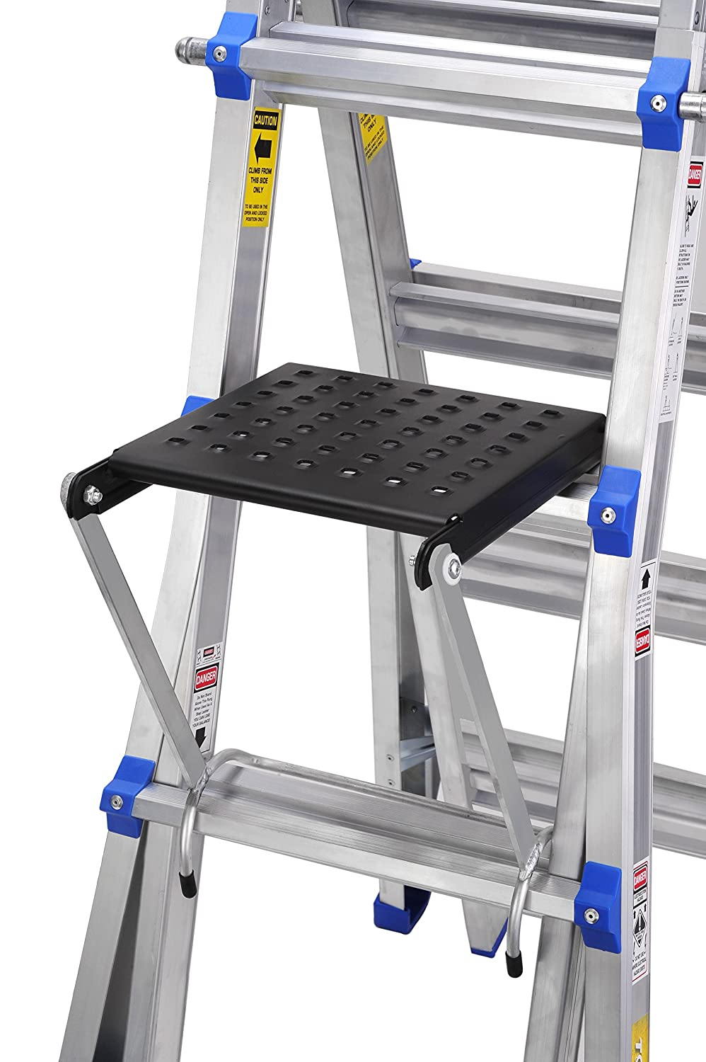 "TOPRUNG 16""x15"" Work Platform for Ladders, Heavy Duty Ladder Accessory"