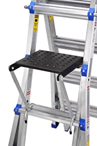 "TOPRUNG 16""x15"" Work Platform for Ladders, Heavy Duty Ladder Accessory"