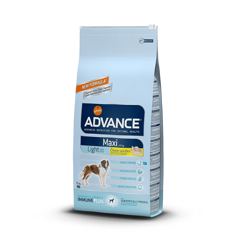 ADVANCE Maxi Light Trockenfutter Hund, 1-er Pack (1 x 15 kg)