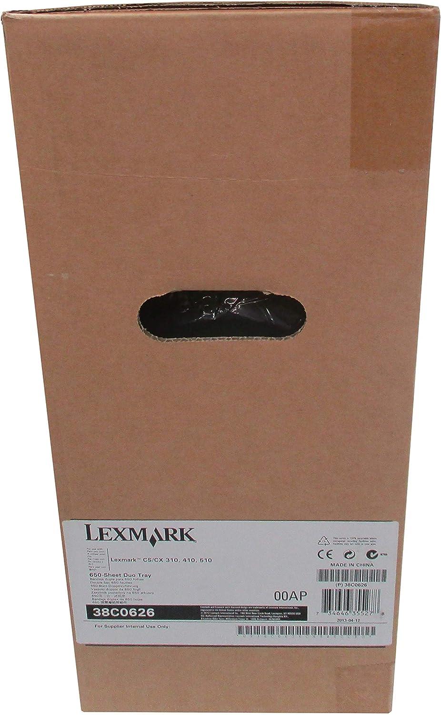 LEXMARK ACCESSORIES 38C0626 CS310 CS410 CS510 CX310 CX410 CX510 650-SHEET DUO TRAY by LEXMARK ACCESSORIES