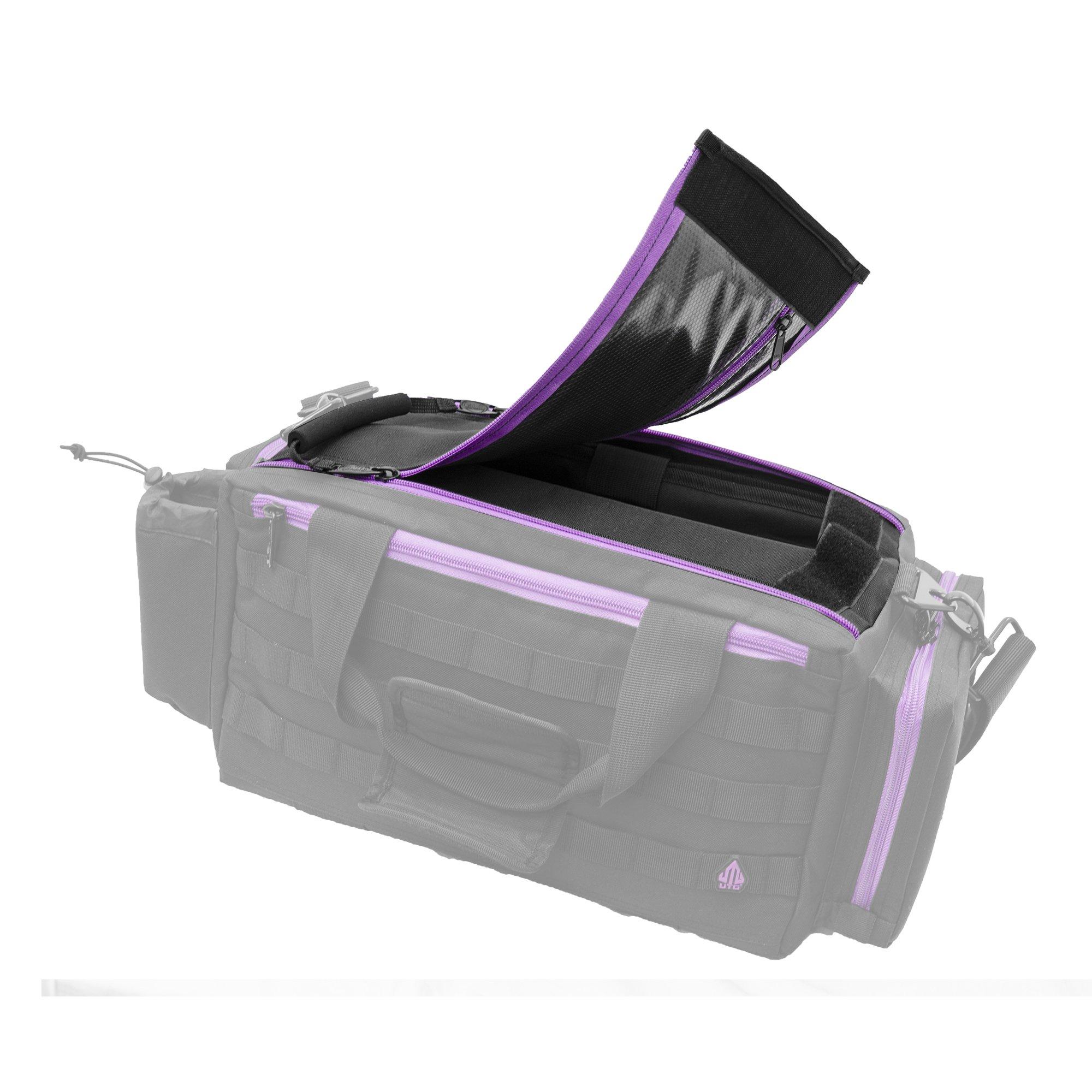 UTG All in One Range/Utility Go Bag, Black/Violet, 21'' x 10'' x 9'' by UTG (Image #6)