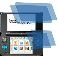 4x ANTIREFLEX matt Schutzfolie für New Nintendo 2DS XL Konsole Premium Displayschutzfolie Bildschirmschutzfolie Schutzhülle Displayschutz Displayfolie Folie