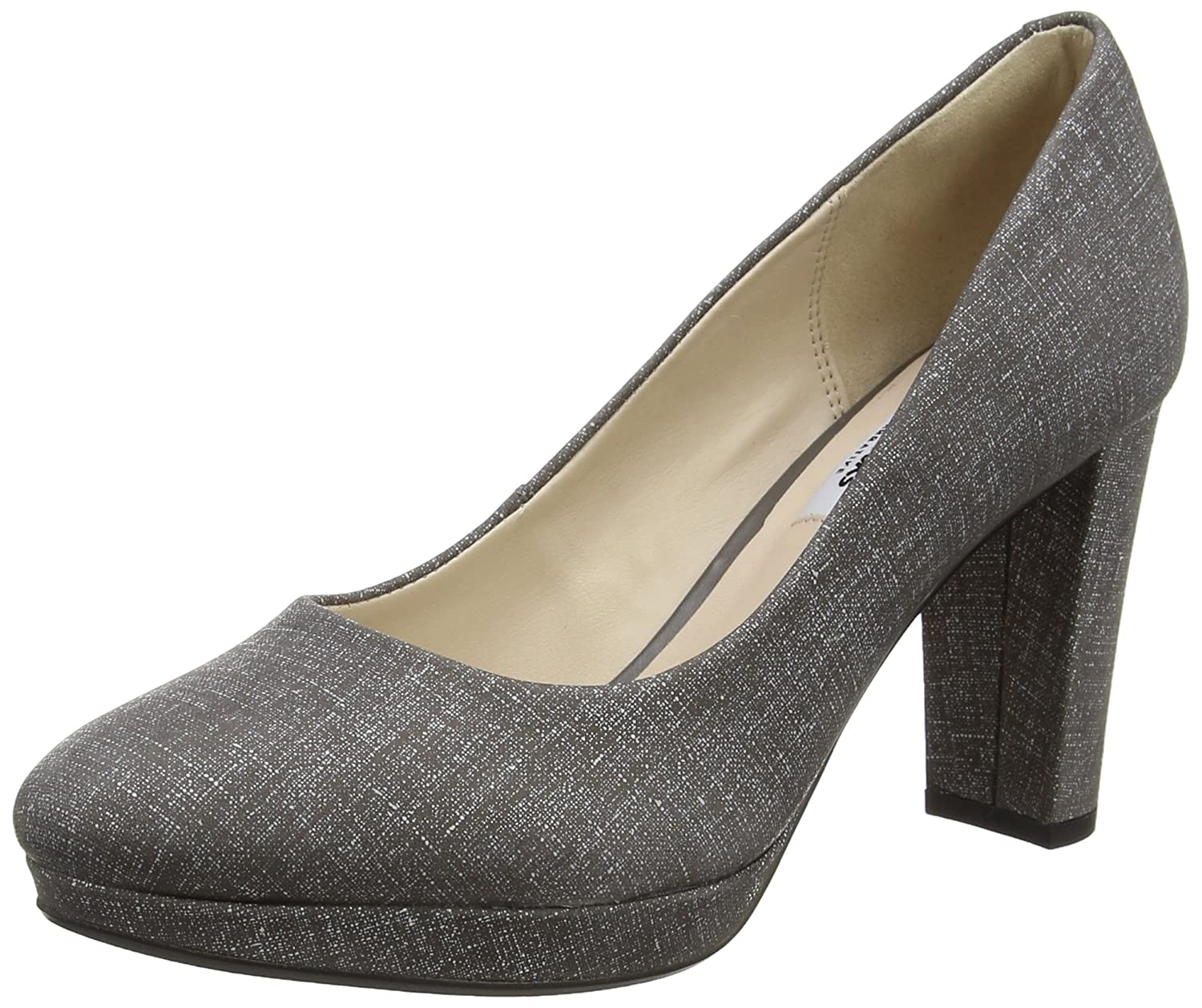 f937ae827be Clarks Women s s Kendra Sienna Closed-Toe Pumps