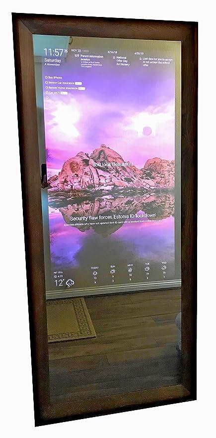 Handmade Smart Mirror Tv Based On The Famous Magic Amazon