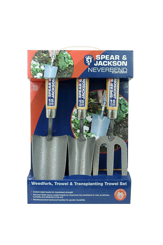 Spear /& Jackson 3056GS//12 Neverbend Edelstahl 3-teilig Geschenkset