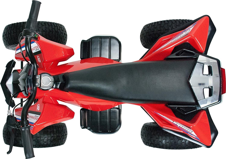 Amazon.com : Injusa Hunter 24V Quad Bike Red : Sports & Outdoors