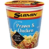 Suimin Cup Noodle, Prawn and Chicken, 70g
