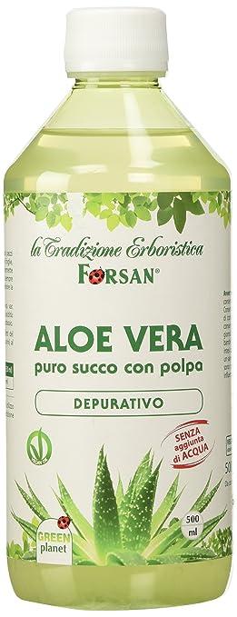 6 opinioni per La Tradizione Erboristica Forsan Succo di Aloe Vera- 500 ml