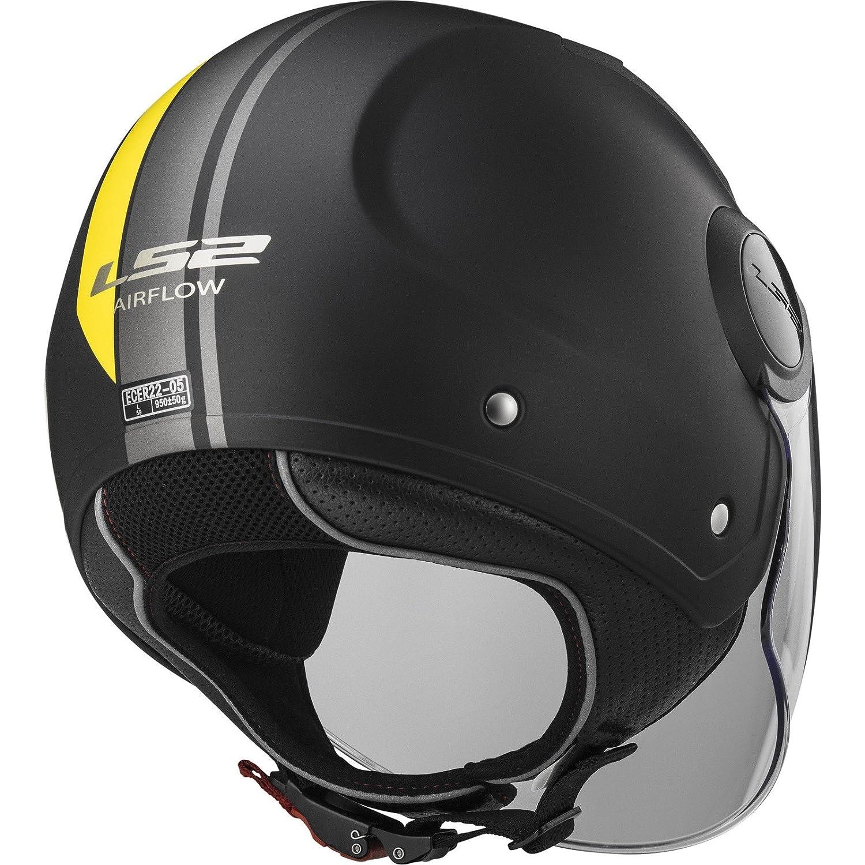 LS2 OF562 Airflow L Metropolis Open Face Motorcycle Helmet