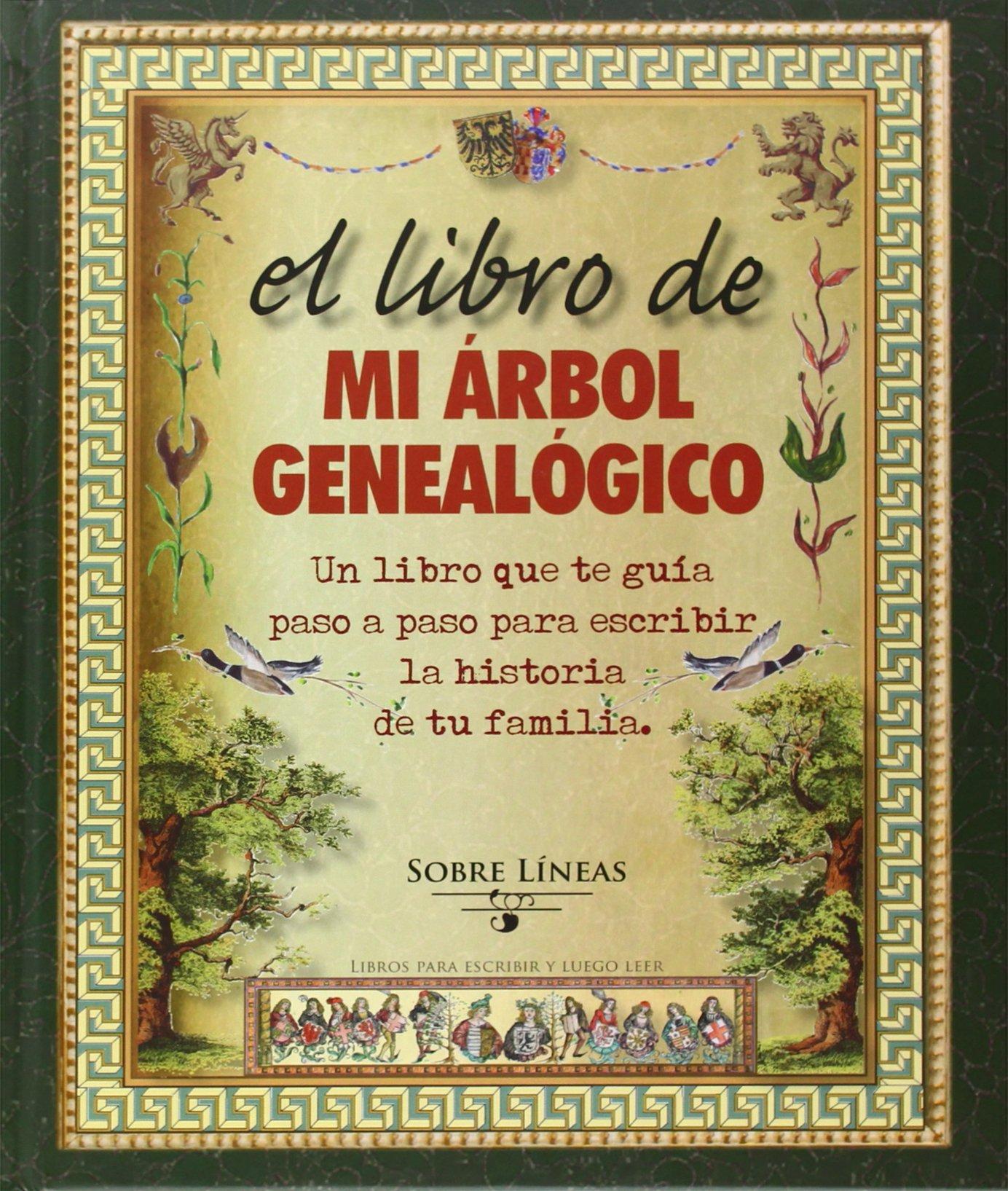 El Libro De Mi árbol Genealógico Sobre Líneas Amazones Varios