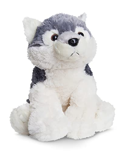 Amazon Com Aurora World Destination Nation Wolf Plush Toy Grey
