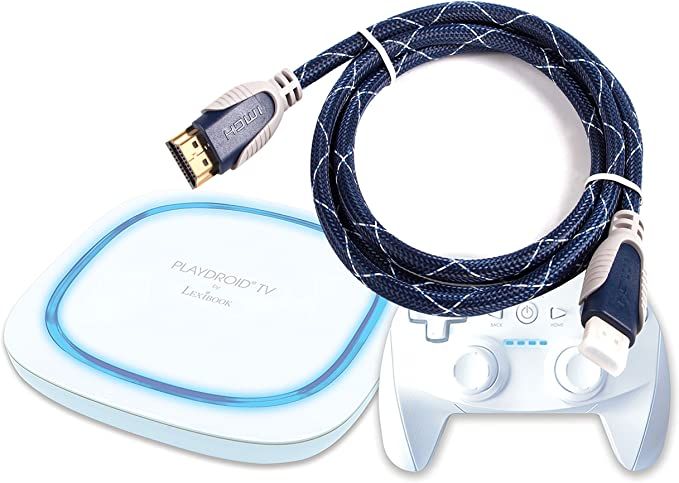 DURAGADGET – Cable HDMI para Lexibook Playdroid TV – lbox500fr- Juego para Tablet – 1,8 m: Amazon.es: Electrónica