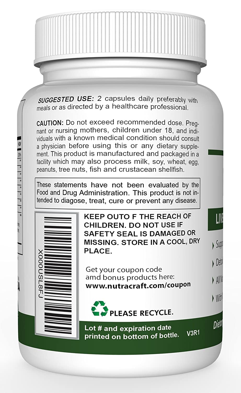 Amazon.com: Liver Cleanse & Detox Supplement - Advanced Milk Thistle Formula With Silymarin, Turmeric, Beet, Dandelion, Chicory, Burdock, Artichoke and more ...