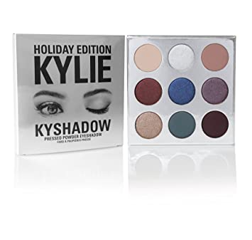 kylie cosmetics limited edition holiday collection holiday palette kyshadow